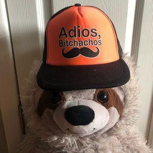 🌈5/ $25🌈 Adios Bitchachos SnapBack hat